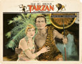 "Movie Posters:Adventure, Tarzan and the Golden Lion (FBO, 1927). Lobby Card (11"" X 14"").. ..."