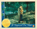 "Movie Posters:Academy Award Winners, It Happened One Night (Columbia, 1935). Lobby Card (11"" X 14"")....."