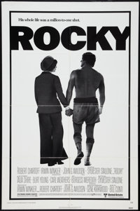 "Rocky (United Artists, 1977). One Sheet (27"" X 41""). Style A. Academy Award Winners"