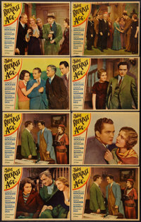 """This Reckless Age (Paramount, 1932). Lobby Cards (8) (11"""" X 14""""). Comedy. ... (Total: 8 Items)"""