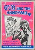 """Movie Posters:Adult, Eve and the Handyman (Pad-Ram Enterprises, 1961). One Sheet (30"""" X 42.5""""). Adult.. ..."""