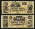 Obsoletes By State:Louisiana, New Orleans, LA- Canal Bank $20; $100. ... (Total: 2 notes)