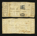 Obsoletes By State:Louisiana, Shreveport, LA- State of Louisiana 50¢ Mar. 1, 1864 Two Examples. ... (Total: 2 notes)