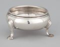 Silver Holloware, British:Holloware, A GEORGE III SILVER OPEN SALT . Stephen Adams, London, England,circa 1764-1765. Marks: (lion passant) (leopard's head crown...