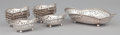 Silver Holloware, American:Bowls, A SET OF TEN AMERICAN SILVER NUT DISHES AND SERVING DISH . Tiffany& Co., New York, New York, circa 1898. Marks: TIFFANY&... (Total: 11 Items)