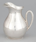 Silver Holloware, Mexican:Holloware, A MEXICAN SILVER WATER PITCHER . C. Zurita, Mexico, circa 1950.Marks: C. ZURITA 925 HECHO EN MEXICO, STERLING MEXICO. 7...