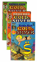 Bronze Age (1970-1979):Cartoon Character, Richie Rich Gold and Silver #1-42 File Copy Group (Harvey, 1975-82)Condition: Average NM- 9.2....