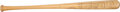 Autographs:Bats, 1937 Dick Bartell Game Used Bat Signed by the New York Giants Team....