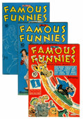 Golden Age (1938-1955):Miscellaneous, Famous Funnies File Copies Group (Eastern Color, 1943-46) Condition: Average VF+.... (Total: 12 Comic Books)