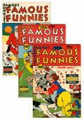Golden Age (1938-1955):Miscellaneous, Famous Funnies File Copies Group (Eastern Color, 1947-48) Condition: Average VF/NM.... (Total: 7 Comic Books)