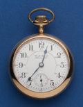 Timepieces:Pocket (post 1900), Hamilton 21 Jewel 940 Railroad Inspector's Dial. ...