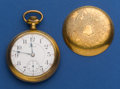 Timepieces:Pocket (post 1900), Elgin 18 Size 21 Jewel Father Time. ...