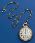 Timepieces:Pocket (post 1900), Waltham 16 Size 23 Jewel Vanguard Pocket Watch. ...