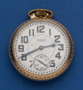 Timepieces:Pocket (post 1900), Waltham 16 Size 21 Jewel Riverside Pocket Watch . ...