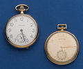 Timepieces:Pocket (post 1900), Two Hamilton's 12 Size Pocket Watches. ... (Total: 2 Items)