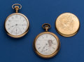 Timepieces:Pocket (post 1900), Two Elgin's 16 Pocket Watches . ...