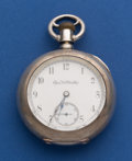 Timepieces:Pocket (post 1900), Elgin 4 oz. Coin Silver 18 Size Pocket Watch. ...