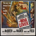 "Movie Posters:War, The War Lover (Columbia, 1962). Six Sheet (81"" X 81""). War. ..."