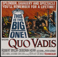 "Movie Posters:Historical Drama, Quo Vadis (MGM, R-1964). Six Sheet (81"" X 81""). Historical Drama...."