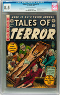 Golden Age (1938-1955):Horror, Tales of Terror Annual #3 (EC, 1953) CGC VF+ 8.5 Off-white to whitepages....