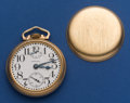 Timepieces:Pocket (post 1900), Waltham 23 Jewel 16 Size Vanguard With Up/Down Indicator. ...
