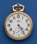 Timepieces:Pocket (post 1900), Ball 16 Size 21 Jewel 999 B Official Standard Pocket Watch. ...