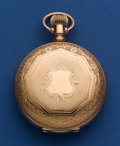 Timepieces:Pocket (post 1900), Waltham Choice Condition 18 Size Hunters Case. ...