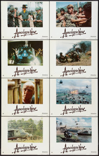 "Apocalypse Now (United Artists, 1979). Lobby Card Set of 8 (11"" X 14"") and Program (7"" X 11"". Multip..."