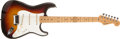 Musical Instruments:Electric Guitars, 1958 Fender Stratocaster Sunburst Electric Guitar, #26872....