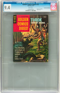 Bronze Age (1970-1979):Adventure, Golden Comics Digest #31 Turok - Don Rosa Collection pedigree (Gold Key, 1973) CGC NM 9.4 White pages....