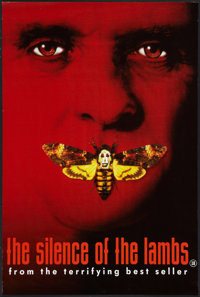 """The Silence of the Lambs (Orion, 1990). British Double Crown (20"""" X 30""""). Thriller"""