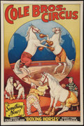 "Circus Poster (Cole Brothers, 1944). Poster (28"" X 42""). Miscellaneous"