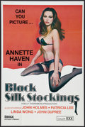 """Movie Posters:Adult, Black Silk Stockings Lot (Essex, 1977). One Sheet (25"""" X 38""""). Adult.. ... (Total: 2 Items)"""