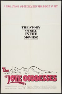 """The Love Goddesses (Walter Reade-Sterling, 1965). One Sheet (27"""" X 41"""") and Half Sheet (22"""" X 28"""")..."""