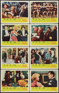"Movie Posters:Comedy, Pocketful of Miracles (United Artists, 1962). Lobby Card Set of 8 (11"" X 14""). Comedy.. ... (Total: 8 Items)"