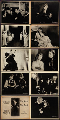 "The Face in the Dark (Goldwyn, 1918). Mini Lobby Card Set of 10 (8"" X 10""). Mystery. ... (Total: 10 Items)"