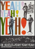 "Movie Posters:Rock and Roll, A Hard Day's Night (United Artists, R-1968). German A1 (23"" X 33"").Rock and Roll.. ..."