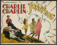 "Sunnyside (Pathe, R-1923). Title Lobby Card (9.75"" X 12.75""). Comedy"