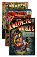 Golden Age (1938-1955):Horror, Miscellaneous Golden Age Horror Group (Various Publishers,1956-57).... (Total: 7 Comic Books)