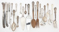 Silver Flatware, American:Gorham, The Collection of Paul Gregory and Janet Gaynor. AN AMERICANSILVER FLATWARE SERVICE WITH ASSOCIATED SILVER AND SILVER P...(Total: 125 Items)