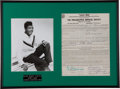 "Music Memorabilia:Autographs and Signed Items, Dave ""Baby"" Cortez Signed American Band Contract (1962)...."