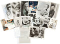 Movie/TV Memorabilia:Autographs and Signed Items, Joan Crawford, Rita Hayworth, and Others Actress Signed Items....(Total: 30 )