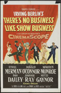 "Movie Posters:Musical, There's No Business Like Show Business (20th Century Fox, 1954).One Sheet (27"" X 41""). Musical.. ..."