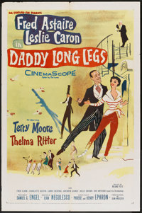 "Daddy Long Legs (20th Century Fox, 1955). One Sheet (27"" X 41""). Musical"