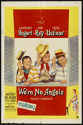 """Movie Posters:Comedy, We're No Angels (Paramount, 1955). One Sheet (27"""" X 41""""). Comedy....."""