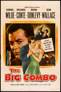 "The Big Combo (Allied Artists, 1955). One Sheet (27"" X 41""). Film Noir"