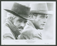 """Robert Redford and Paul Newman in """"Butch Cassidy and the Sundance Kid"""" (20th Century Fox, 1969). Photo (8""""..."""