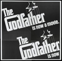 "The Godfather (Paramount, 1972). Six Sheet (81"" X 81""). Crime"