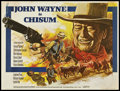 "Movie Posters:Western, Chisum (Warner Brothers, 1970). British Quad (30"" X 40""). Western.. ..."