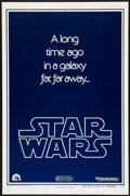 "Movie Posters:Science Fiction, Star Wars (20th Century Fox, 1977). One Sheet (27"" X 41""). AdvanceTeaser Style B. Science Fiction.. ..."
